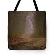 Path To Wolf Den  Tote Bag