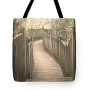 Pathway Tote Bag by Melissa Petrey