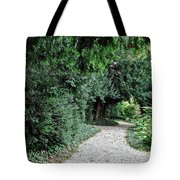 Pathway Of Monks Tote Bag