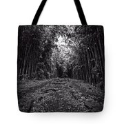 Pathway Through A Bamboo Forest Maui Hawaii Tote Bag