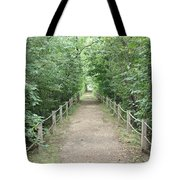 Pathway Through The Forest Tote Bag