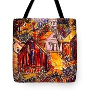 Pathway To Color Tote Bag