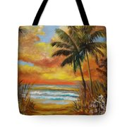 Pathway To The Beach 11 Tote Bag