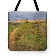 Pathway To The Cabanas Tote Bag