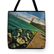 Pathway To The Golden Gate Tote Bag