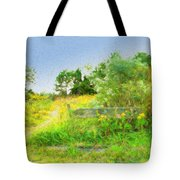 Pathway To The River Tote Bag