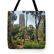 Pathway To The Tower Tote Bag