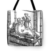 Patient And Nurse, 1646 Tote Bag
