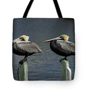 Patient Pair Tote Bag