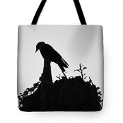 Patient Worm Tote Bag