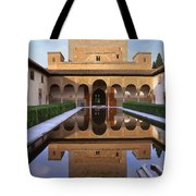 Patio De Los Arrayanes La Alhambra Tote Bag