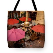 Patio Unbrellas Tote Bag
