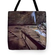 Pato To Ash Cave In Winter Tote Bag