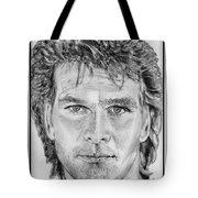 Patrick Swayze In 1989 Tote Bag