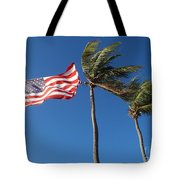 Patriot Keys Tote Bag by Carey Chen