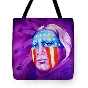 Patriot Tote Bag by Robert Martinez