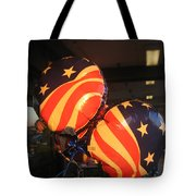 Patriotic Balloons Veteran's Day Casa Grande Arizona 2004 Tote Bag