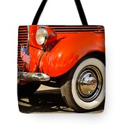 Patriotic Car Tote Bag