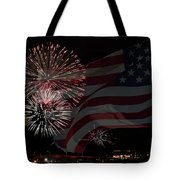 Patriotic Tote Bag by Dianne Phelps