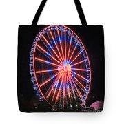 Patriotic Ferris Wheel Tote Bag