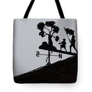 Patriotic Weathervane Tote Bag