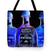 Patron Tequila Black Light Tote Bag
