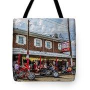 Pat's King Of Steaks Tote Bag by Diane Diederich