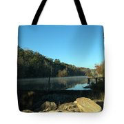Patsiliga Creek Lake Tote Bag