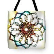 Pattern 18 Colourised Tote Bag