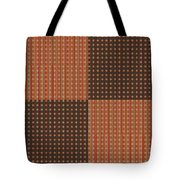 Pattern 9 Spots Tote Bag