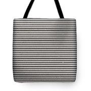 Pattern - Corrugated Metal Tote Bag