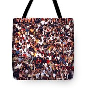 Pattern Of Brave Footballers Tote Bag