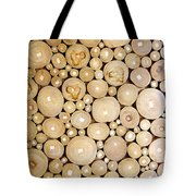 Pattern Of The Wood Pieces Tote Bag