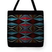 Patterned Abstract 2 Tote Bag