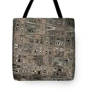 Patterned Ripples Tote Bag