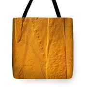Patterns And Animal Tracks On Sand Tote Bag