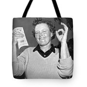 Patty Berg Shoots A 64 Tote Bag