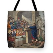 Paul Before Felix, Illustration Tote Bag
