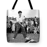 Paul Hahn Golf Stunt Shot Tote Bag