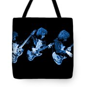 Paul Harwood Of Mahogany Rush Plays The Blues Tote Bag