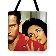 Paul Newman Artwork 3 Tote Bag