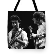 Paul And Mick In Spokane 1977 Tote Bag