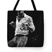 Paul Rocks Steady In Spokane In 1977 Tote Bag