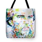 Paul Verlaine - Watercolor Portrait.2 Tote Bag