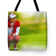 Paula Creamer - The Ricoh Women British Open Tote Bag