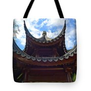 Pavilion Of Three Friends Tote Bag