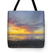 Pavilion Sunrise Tote Bag
