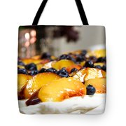 Pavlova And Candle Tote Bag