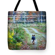 Paw Prints The Calling Tote Bag
