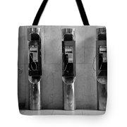 Pay Phones 2b Tote Bag